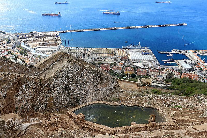 Гибралтар: каменните стълби