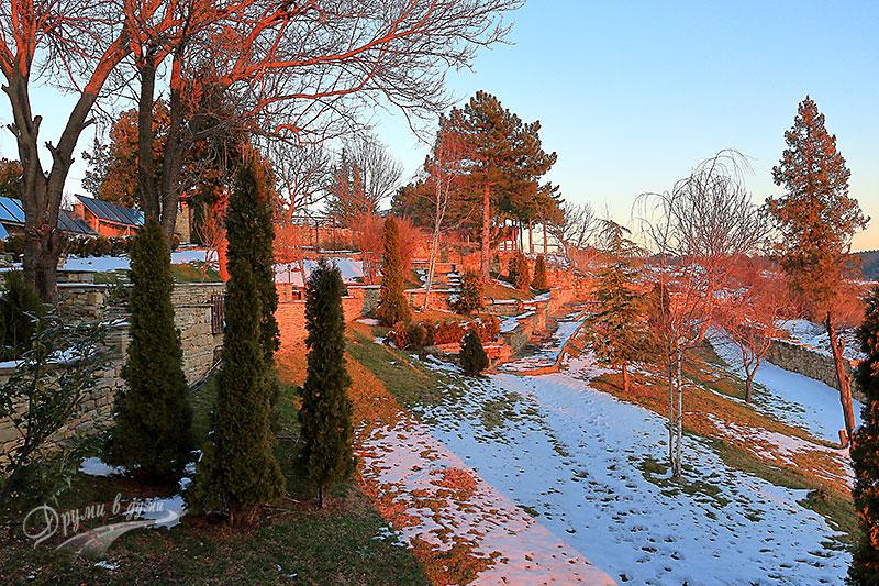 Парк хотел Арбанаси - градината