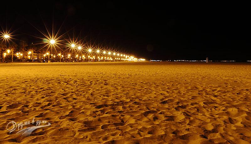 Валенсия: плажът