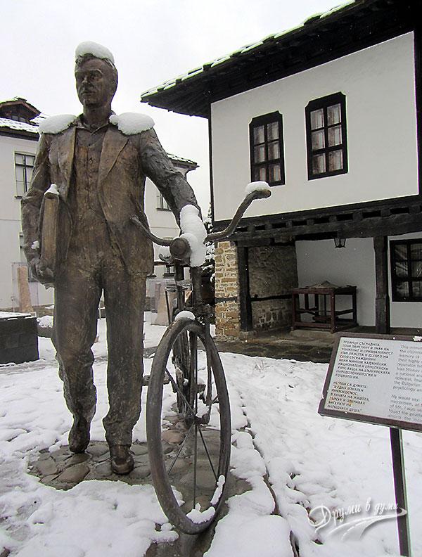 Паметникът на Троян: къща-музей Иван Хаджийски