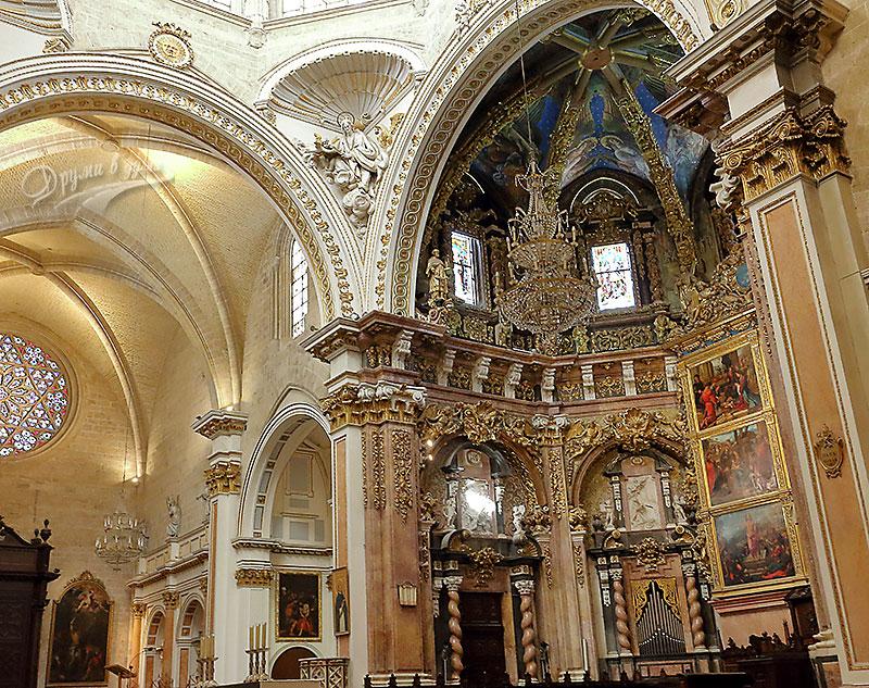 Валенсия: катедралата