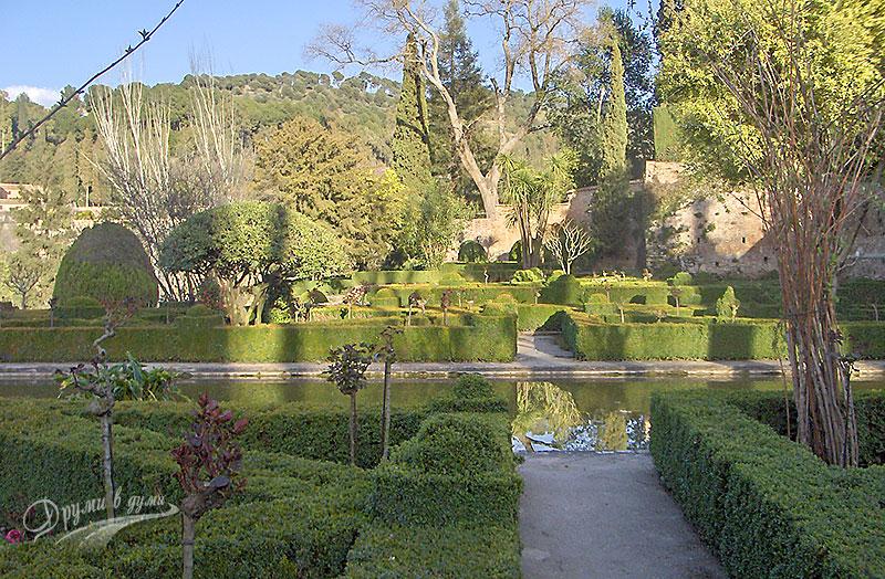 Градините на Алхамбра