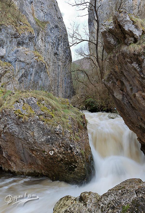 Ждрелото на река Ерма - тясната част