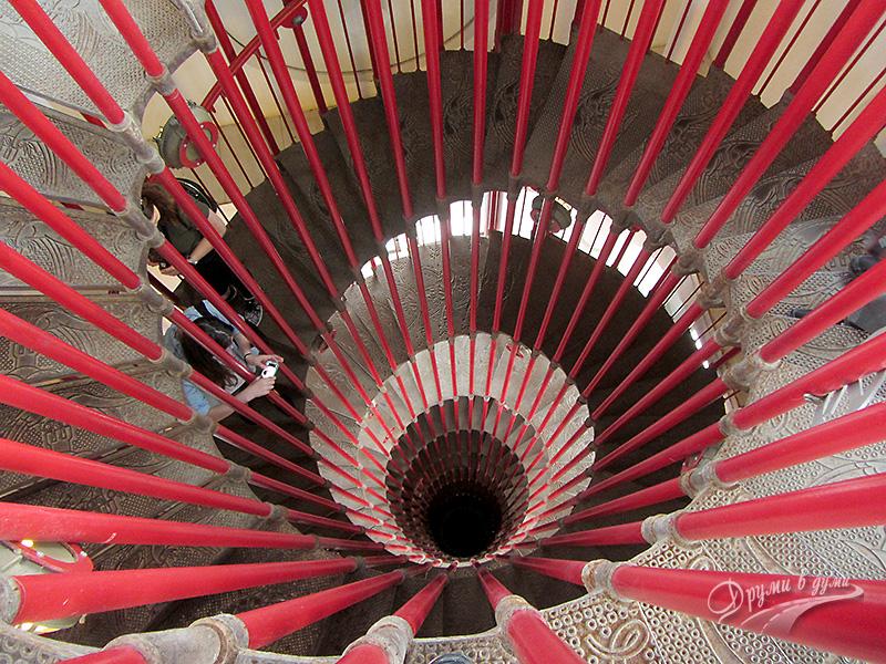 Витите стълби на Люблянския замък