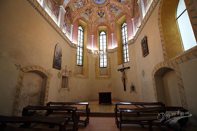 Люблянският замък - параклисът