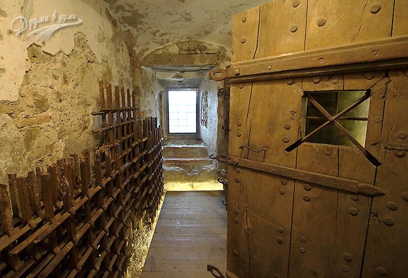 Люблянският замък - подземието