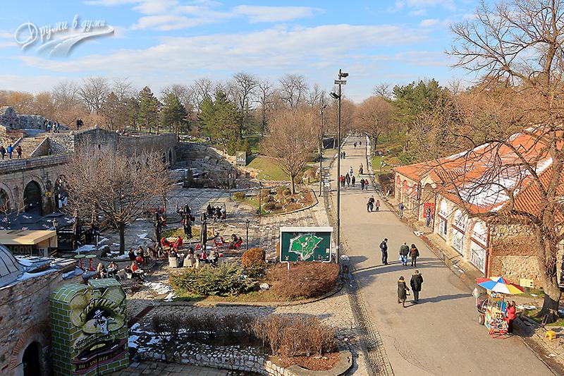 Нишката крепост и паркът