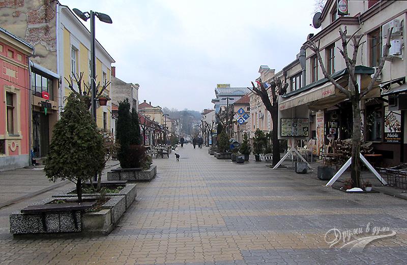 Търговската улица в Крушевац