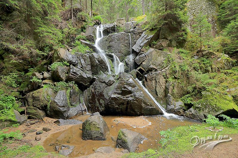 Водопад Късак