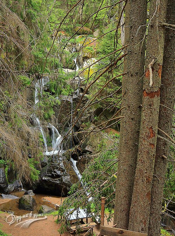 Водопад Късак - последни метри