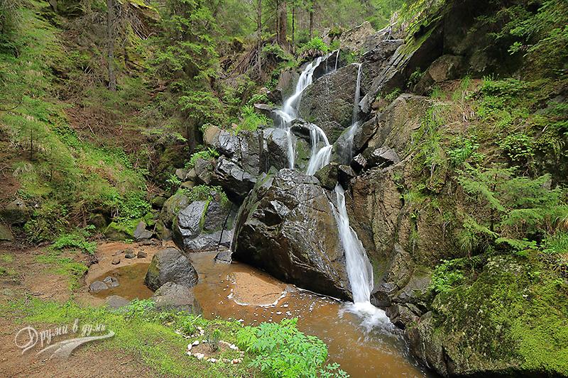 Водопад Късак в Родопите