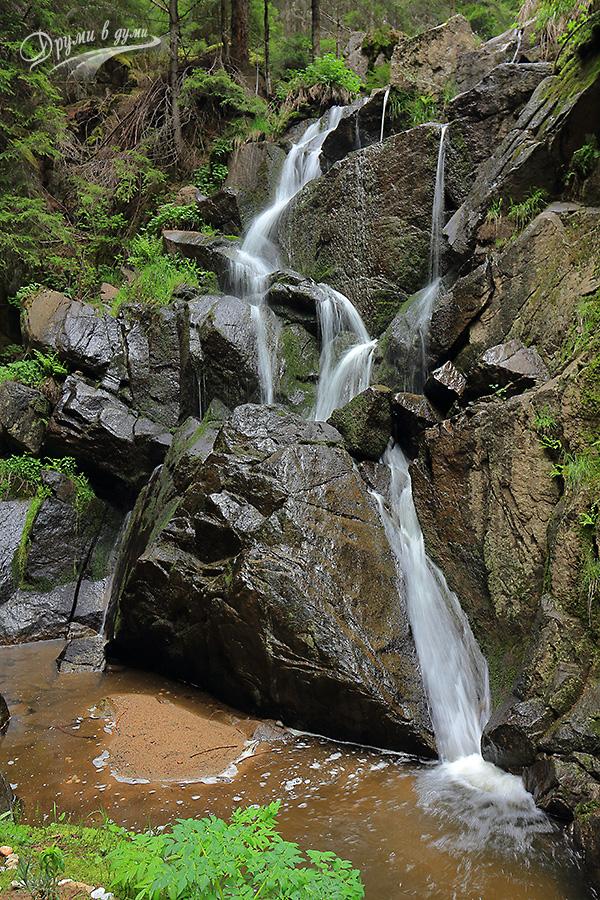 Водопад Късак в Западните Родопи