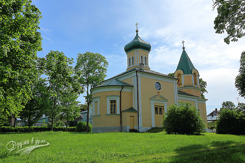 Haapsalu - the Russian church