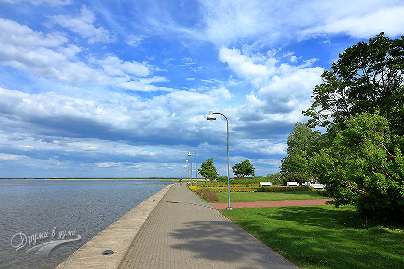 Haapsalu: the promenade