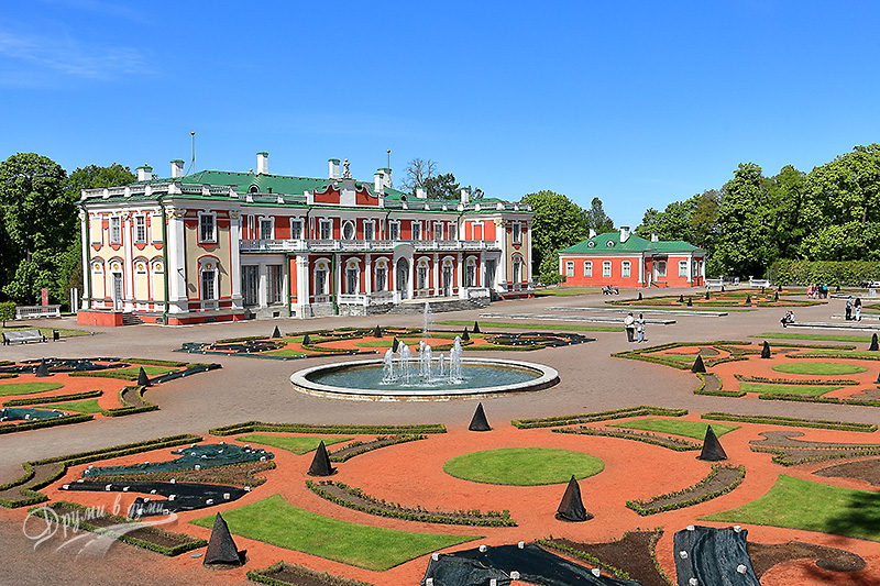 Kadriorg Palace - the garden