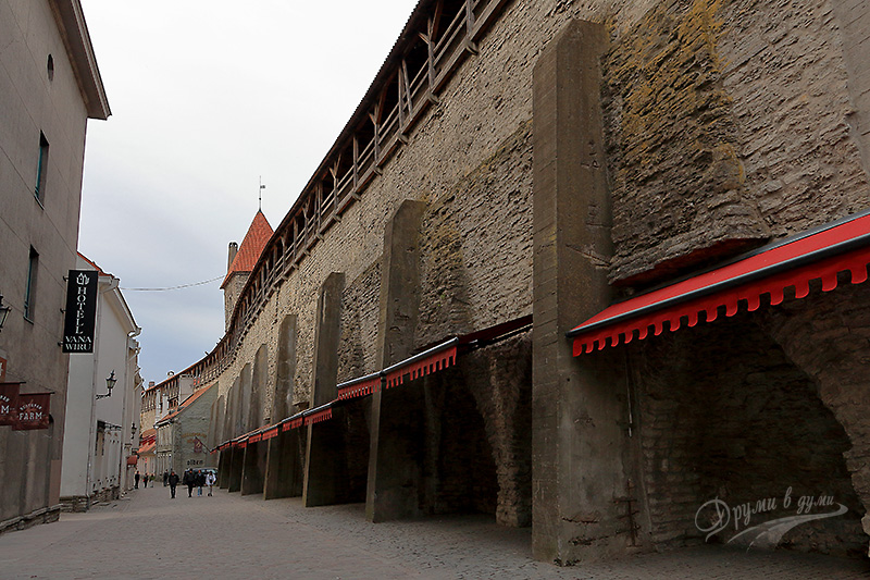 Fortress walls