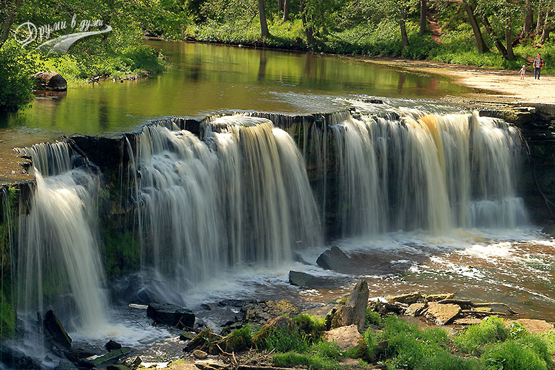 Estonia: Keila waterfall