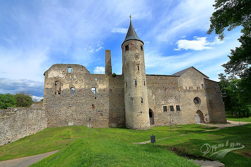 Замъкът Хаапсалу - катедралата