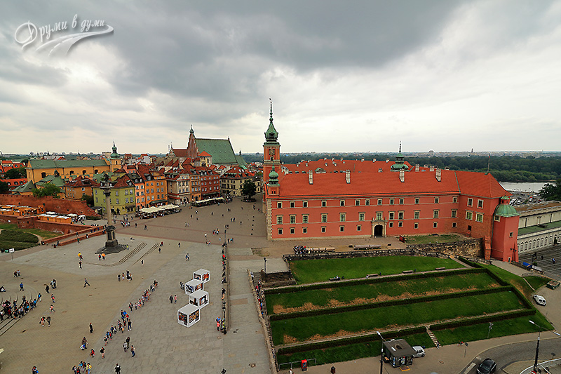 Warsaw Old Town – the Royal Castle and the Square