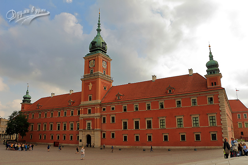 Warsaw Old Town – the Royal Castle