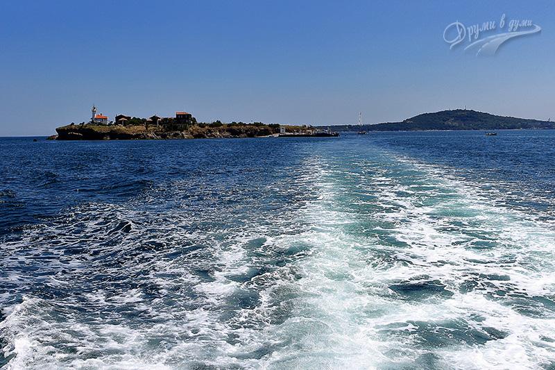 Saint Anastasia Island near Burgas
