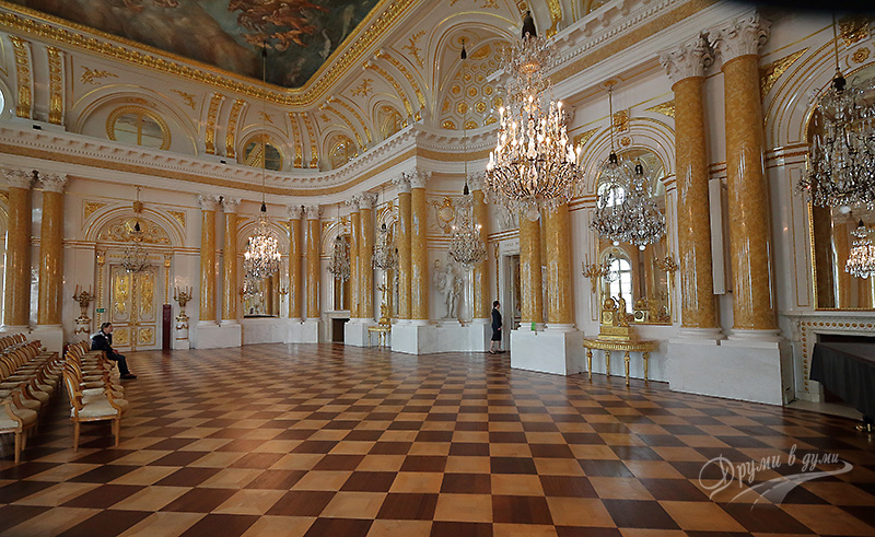 Wilanow palace: the Ballroom