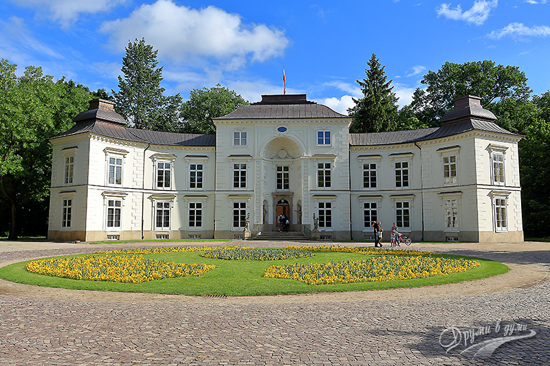 Lazienki Park: the Prince's Residence