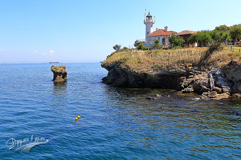 Island of Saint Anastasia: the lighthouse