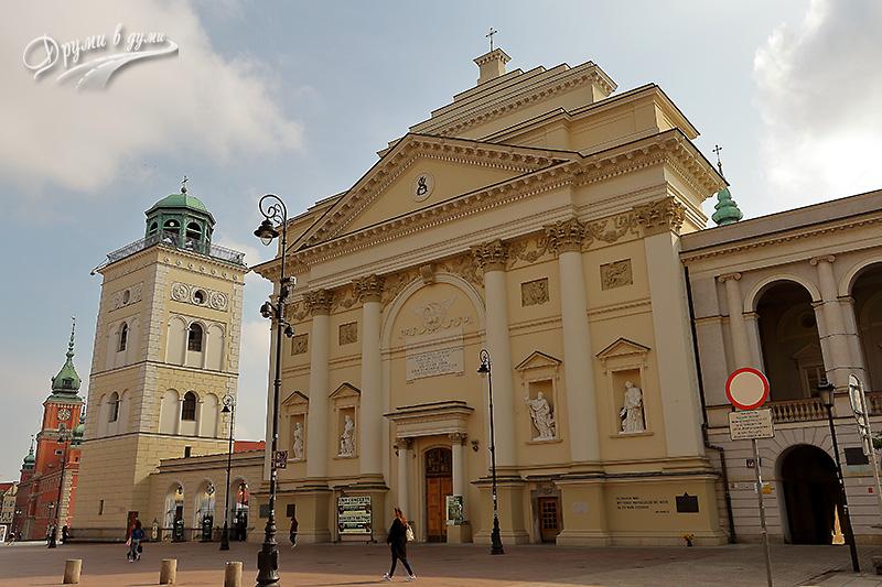 Варшава: църквата Св. Ана
