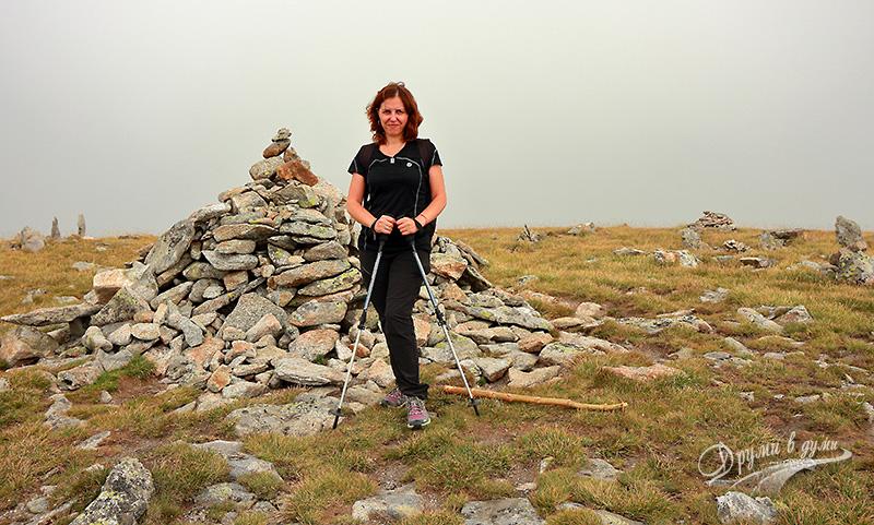 На връх Белмекен под купола на мъглата