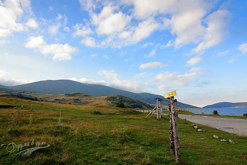 Начало на пътеката към връх Белмекен