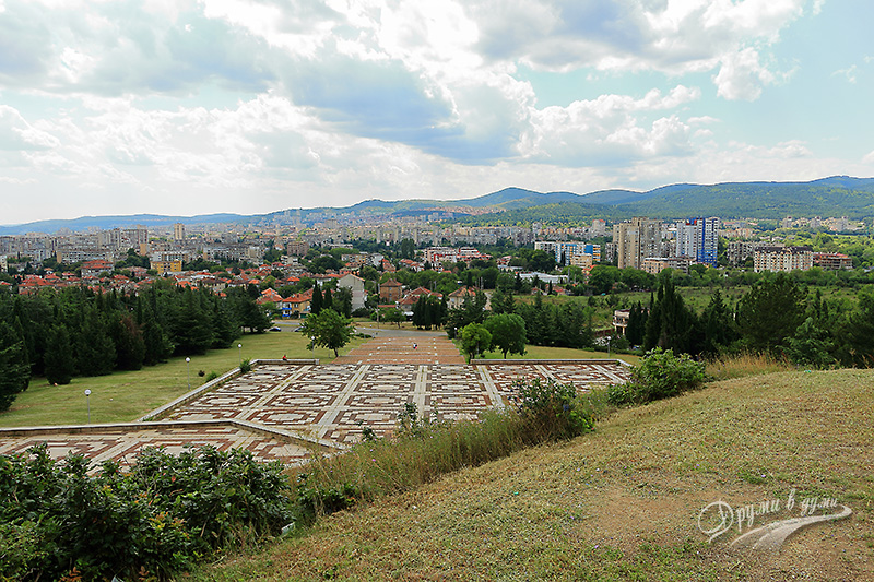 Panoramic view of Stara Zagora