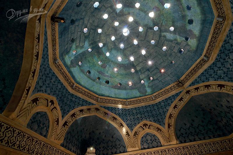 Акве Калиде: таванът с естествено осветление и вентилация