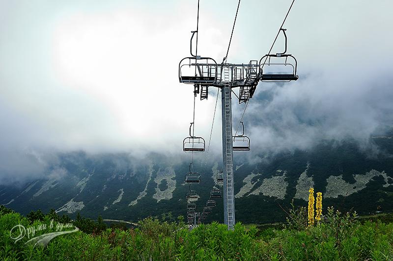 Гледки по рилската магистрала: лифт Маркуджик 2