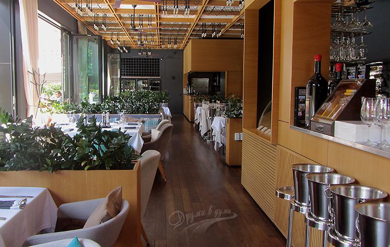 Апарт хотел Лъки Банско: ресторант Леонардо