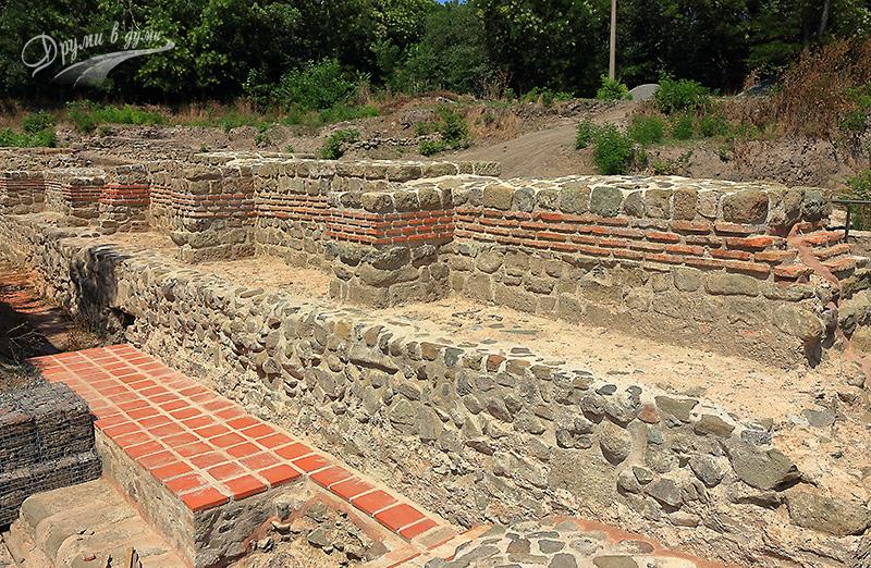 Акве Калиде: старинни останки