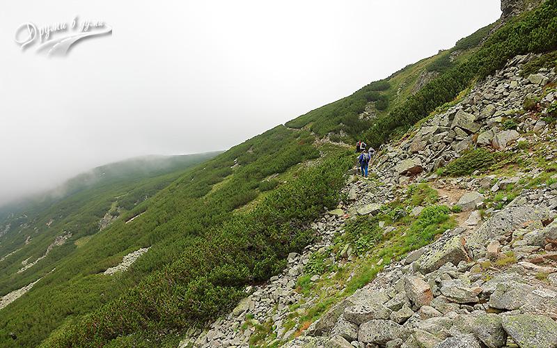 Към връх Дено