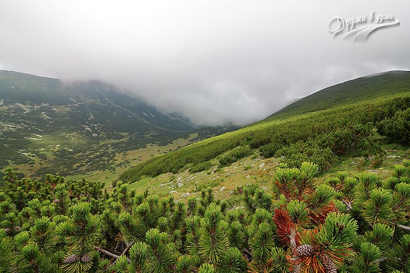Още гледки - пътеката от Ястребец на отсрещния хребет