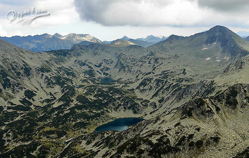 Муратов връх: Бъндеришки езера от 2669 метра височина