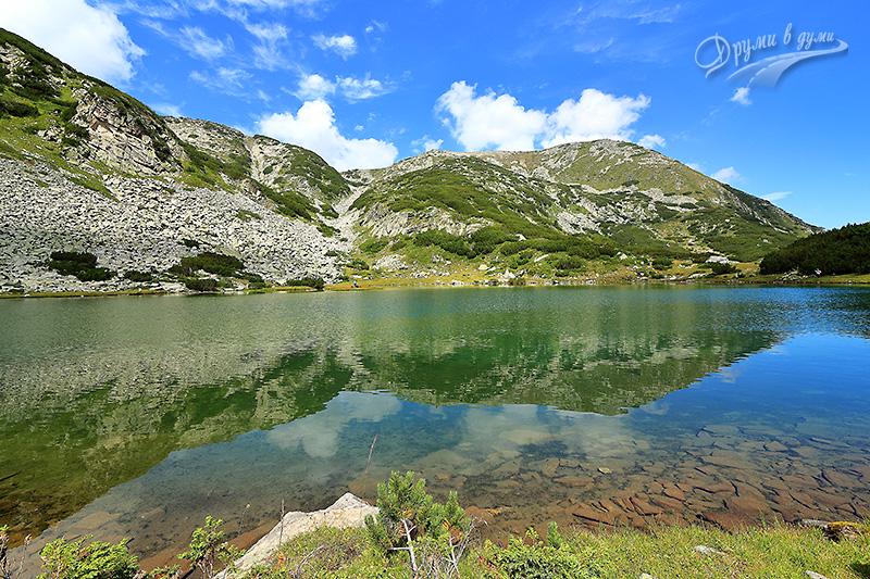 Муратово езеро и Хвойнати връх