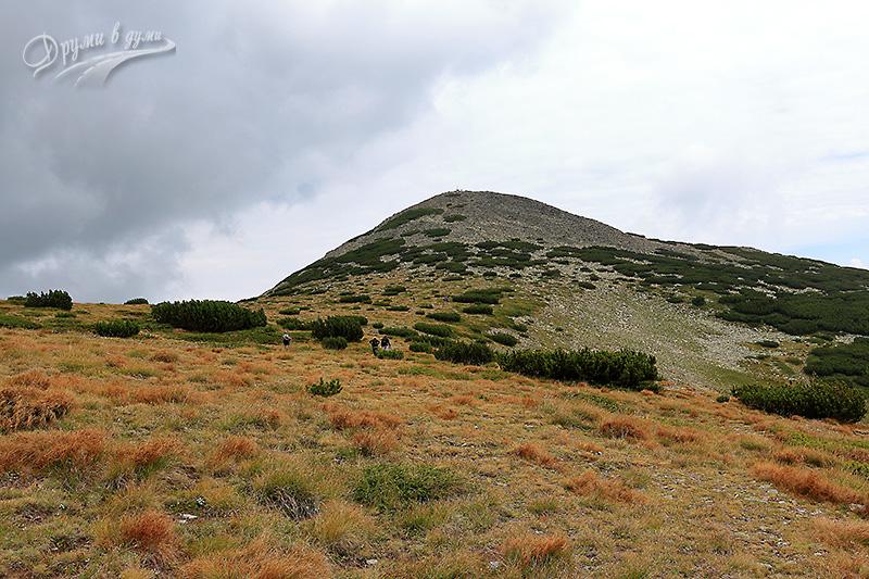Седловината под връх Безбог