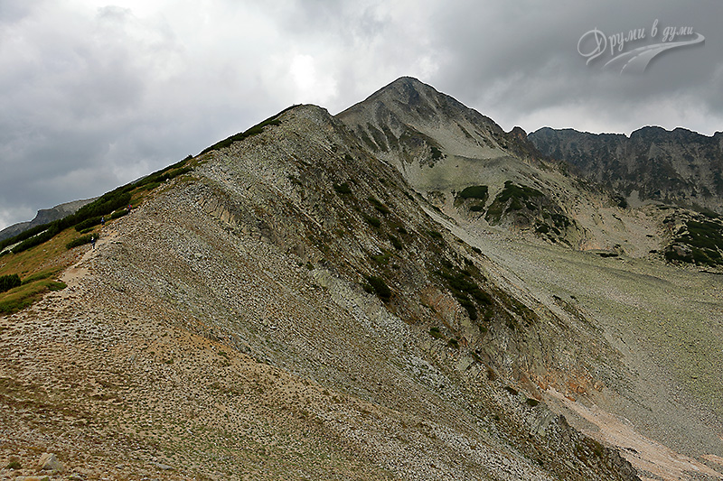 Поглед напред към целта - връх Полежан