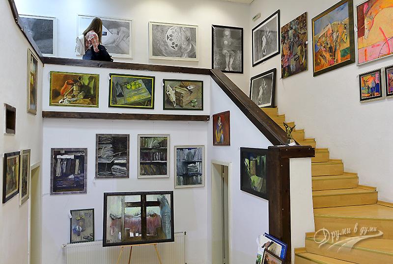 Банско: художествена галерия