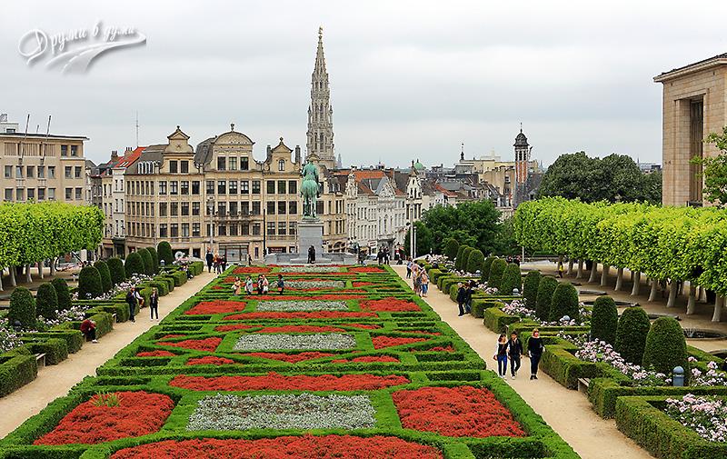 Брюксел: Хълм на изкуствата