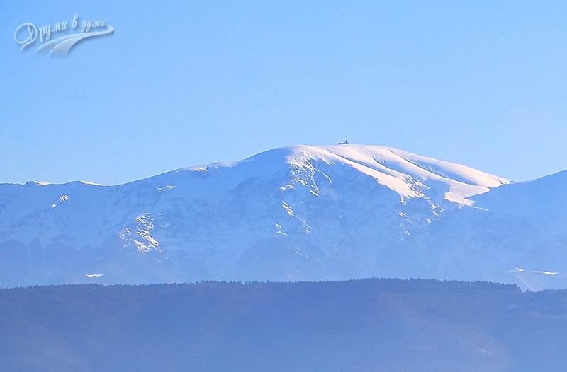 Поглед към Ботев връх