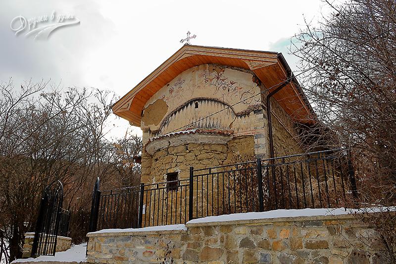 Средновековната църква в с. Чуковец