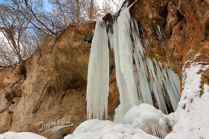 Водопад Смоличано (Света Ана)