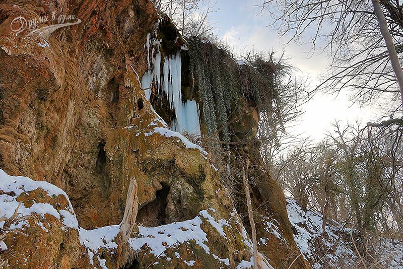 Смоличански водопад - другият пад