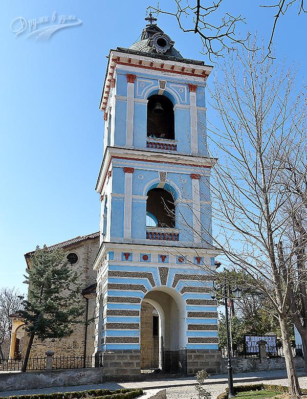 Карлово: църква Успение Богородично - камбанарията