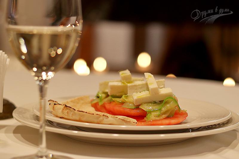 В ресторант Льо Кав: вино и гурме